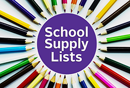 2019 - 2020 Supply Lists