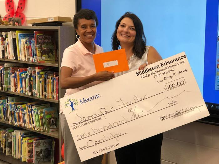 Meemic Foundation's $100 Back-to-School Supplies Grant.