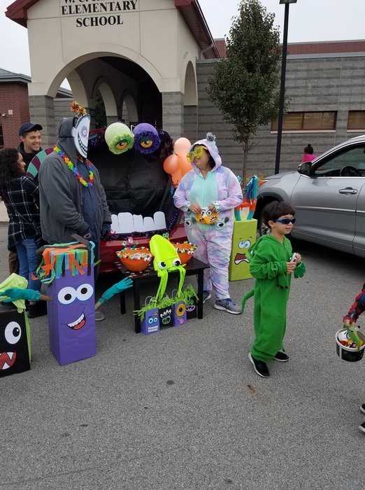 Reavis PTA Trunk or Treat event 2