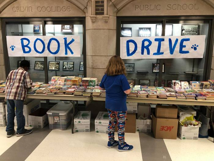 Coolidge Book Drive1