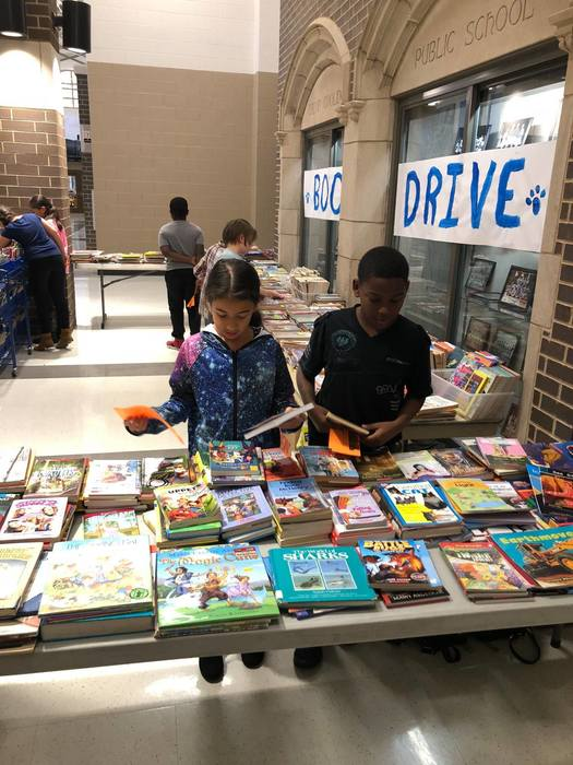 Coolidge Book Drive2