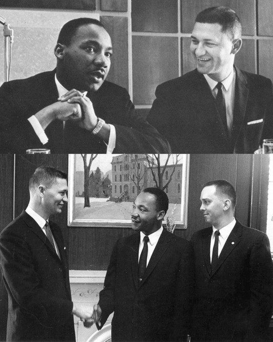 Arlo Schilling and Dr King