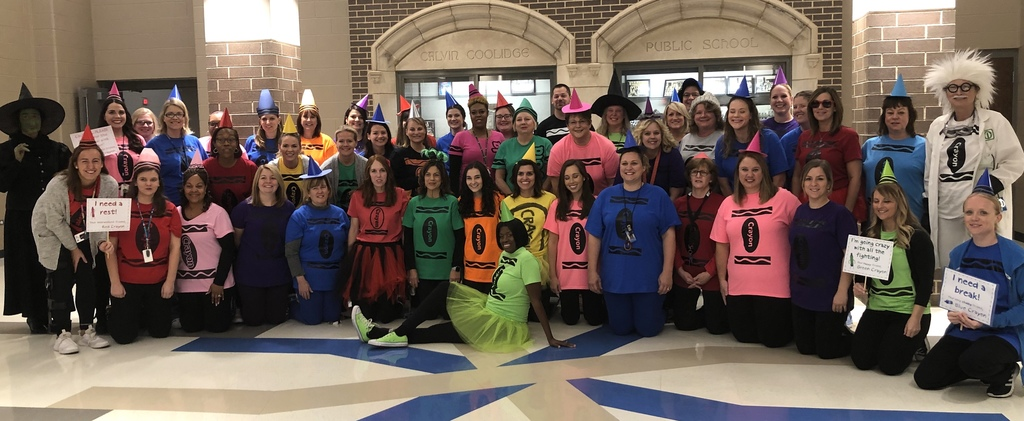 Halloween from our Coolidge faculty and staff
