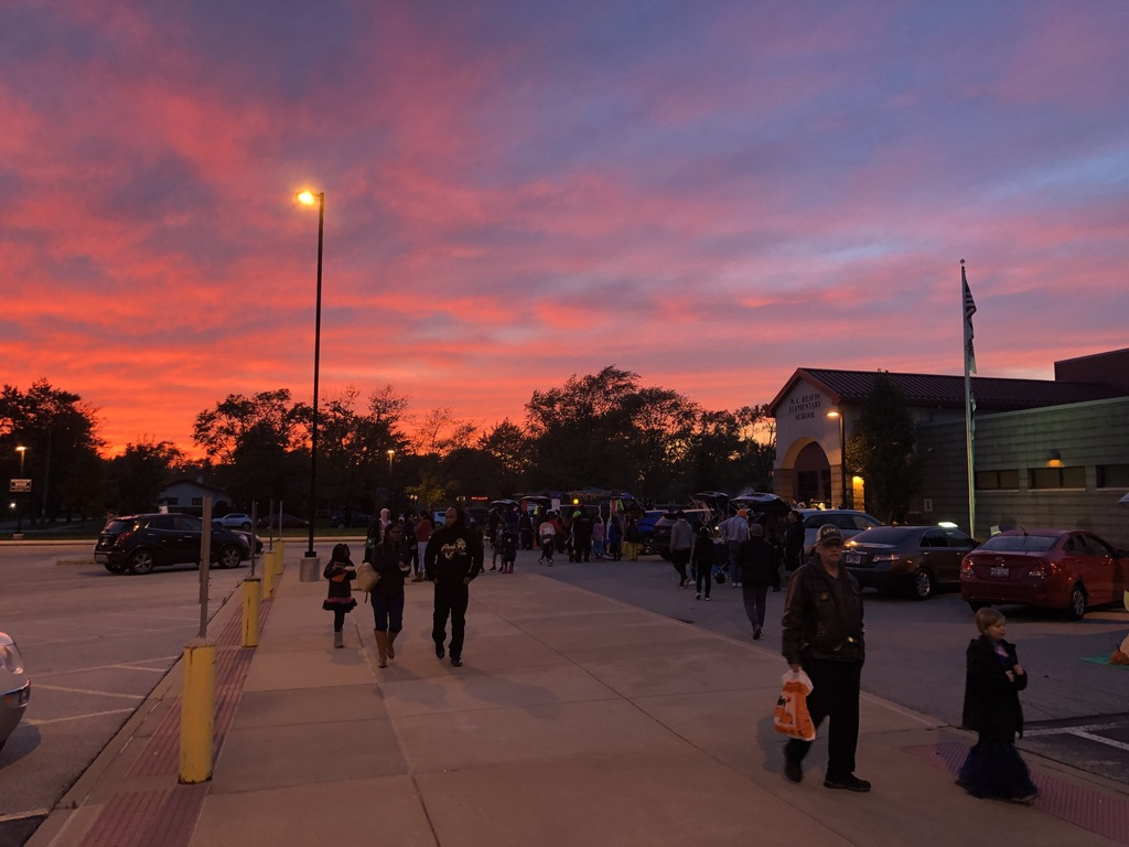 Sunset Over Reavis